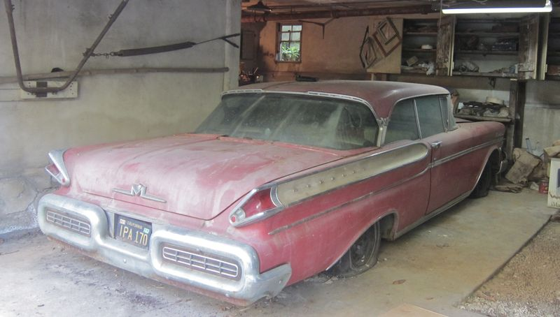 1957 Mercury Montclair Phaeton Coupe - Garage Sale/Barn Find