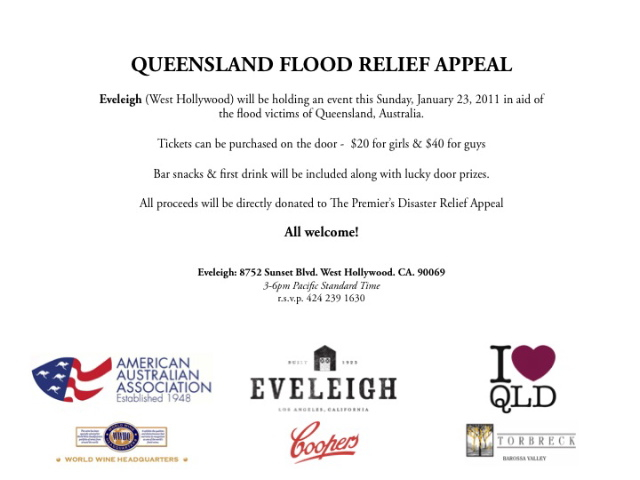 Queensland Flood Relief - Eveleigh
